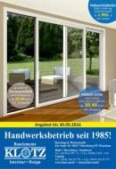 Klotz Metallbau GmbH Aktuelle Angebote Juni 2016 KW22