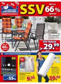 Dänisches Bettenlager SSV bis zu 66% sparen Juni 2016 KW23