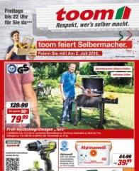 toom Baumarkt Respekt, wers selber macht Juni 2016 KW25 4