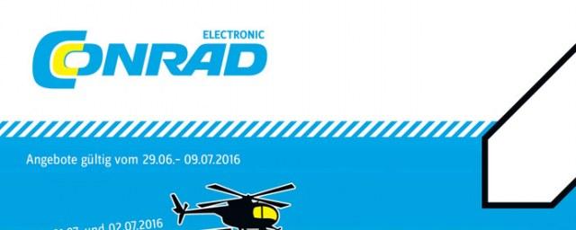 Conrad Electronic Adrenalin-Tage Juni 2016 KW26