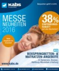 Kabs Polsterwelt Messe Neuheiten 2016 Juni 2016 KW26 1