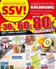 Segmüller Sensationeller SSV: Sonderposten-Räumung Juni 2016 KW26