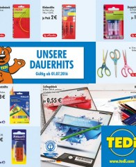Tedi GmbH & Co. KG Dauerhits Juli 2016 KW26