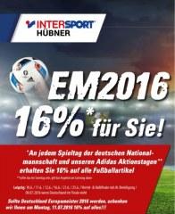 Intersport EM 2016 Juli 2016 KW26