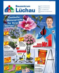 Lüchau Bauzentrum Exotische Blütenpracht für Ihren Garten Juli 2016 KW28