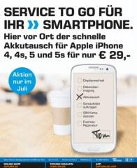 Saturn Service to go für Ihr Smartphone Juli 2016 KW27