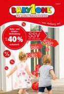 BabyOne SSV - Jetzt richtig sparen Juli 2016 KW29
