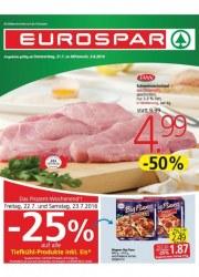 EUROSPAR EUROSPAR Angebote 21.07 - 03.08.2016 Juli 2016 KW29