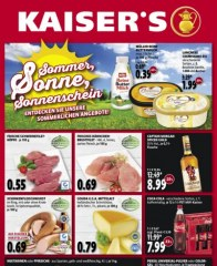 Kaiser's Sommer, Sonne, Sonnenschein Juli 2016 KW30