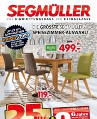 Segmüller Segmüller  -Speisezimmer Juli 2016 KW30 1
