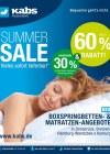 Kabs Polsterwelt Summer Sale Juli 2016 KW30 1-Seite1
