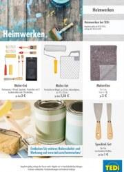 Tedi GmbH & Co. KG Heimwerken Juli 2016 KW30