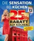 Segmüller 25% Rabatt auf fast alles - Die Sensation bei Küchen Juli 2016 KW30