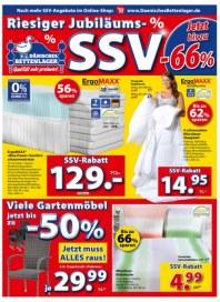 Dänisches Bettenlager Riesiger Jubiläums-SSV Juli 2016 KW30