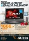 Saturn Welcher Laptop ist ideal für das Gaming August 2016 KW31