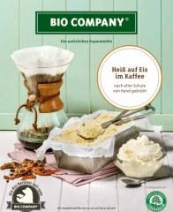 Bio Company Heiß auf Eis im Kaffee August 2016 KW31