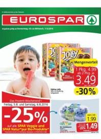 EUROSPAR EUROSPAR Angebote 04.08 - 17.08.2016 August 2016 KW31