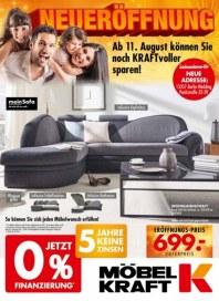 Möbel Kraft Neueröffnung August 2016 KW32
