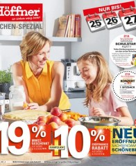 Höffner Höffner ... Küchen-Spezial August 2016 KW33 5