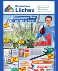 Lüchau Bauzentrum Dekoratives Grün für Garten & Teich August 2016 KW33