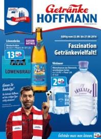 Getränke Hoffmann Faszination Getränkevielfalt August 2016 KW34