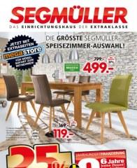 Segmüller Die größte Segmüller-Speisezimmer-Auswahl August 2016 KW34 4