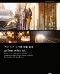 Mercedes Benz Weil der Herbst nicht nur goldene Seiten hat September 2016 KW36