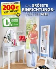 Segmüller Segmüller: Garderoben und Spiegel September 2016 KW37 1