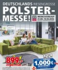 Segmüller Deutschlands riesengroße Polstermesse September 2016 KW37