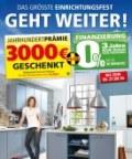 Segmüller Küchen bei Segmüller: Das größte Einrichtungsfest geht weiter September 2016 KW37