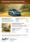 Volkswagen Herbstangebote für Selbstständige September 2016 KW37