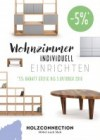Holzconnection Wohnzimmer individuell einrichten September 2016 KW38