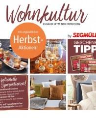 Segmüller Wohnkultur: Zuhause jetzt neu entdecken September 2016 KW39