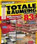 Segmüller Teppiche: Totale Räumung: Bis zu 88% September 2016 KW39