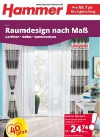 Hammer Raumdesign nach Maß September 2016 KW39
