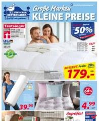 Dänisches Bettenlager Große Marken, Kleine Preise Oktober 2016 KW40