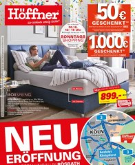 Höffner Jahrhundert-Sensation Oktober 2016 KW41 2