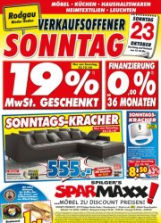 Spilger's Sparmaxx Verkaufsoffener Sonntag Oktober 2016 KW42