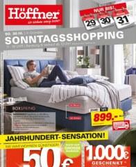 Höffner Jahrhundert-Sensation Oktober 2016 KW42 4