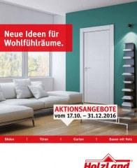 HolzLand Folkmann Neue Ideen für Wohlfühlräume Oktober 2016 KW42