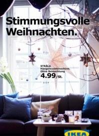 Ikea Stimmungsvolle Weihnachten Oktober 2016 KW42