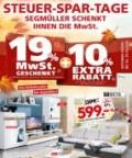 Segmüller Steuer-Spar-Tage Oktober 2016 KW43 2