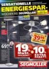 Segmüller Sensationelle Energiespar-Wochen bei Segmüller Oktober 2016 KW43