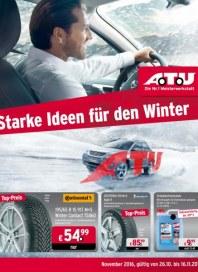 A.T.U Auto Teile Unger Starke Ideen für den Winter Oktober 2016 KW43