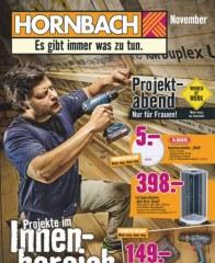 Hornbach Es gibt immer was zu tun Oktober 2016 KW43