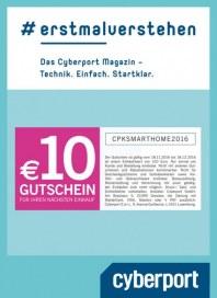 Cyberport 10€ Gutschein November 2016 KW46
