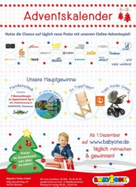 BabyOne Adventskalender November 2016 KW47