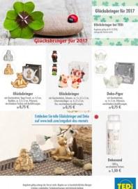Tedi GmbH & Co. KG Glücksbringer für 2017 Dezember 2016 KW48