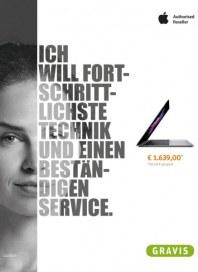 Gravis Ich will fortschrittlichste Technik und einen beständigen Service Dezember 2016 KW48