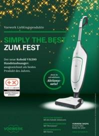 Vorwerk Simply the best zum Fest Dezember 2016 KW48